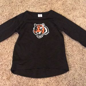 Bengals Black sweater/long sleeve shirt